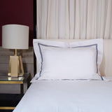 Standard Pillow Sham Cover - Crown Goose