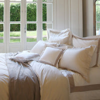 Duvet Cover Set Brise Collection, Beige - Crown Goose