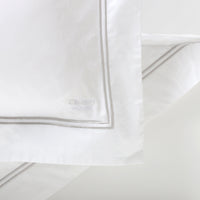 Duvet Cover Set Cordon Collection, Gray - Crown Goose