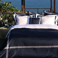Duvet Cover Set De Rang Collection, Navy - Crown Goose