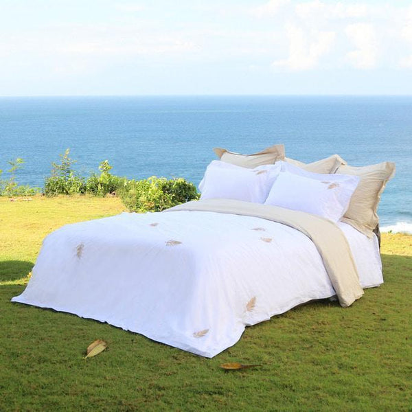 Duvet Cover Set La Dore Collection, Gold - Crown Goose