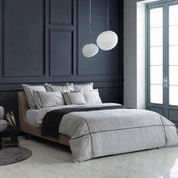 Duvet Cover Set Cordon Collection, Nox - Crown Goose