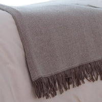Throw & Blanket Dalton - Bosque - Crown Goose