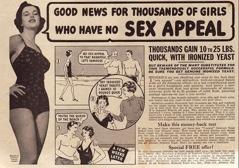 sexist ad are you too thin