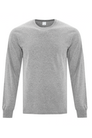 GREY MENS BASIC LONG SLEEVED TEE