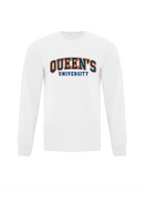 COLLEGIATE LONG SLEEVED WHITE