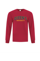 COLLEGIATE LONG SLEEVED RED