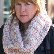Peppermint Twist Cowl