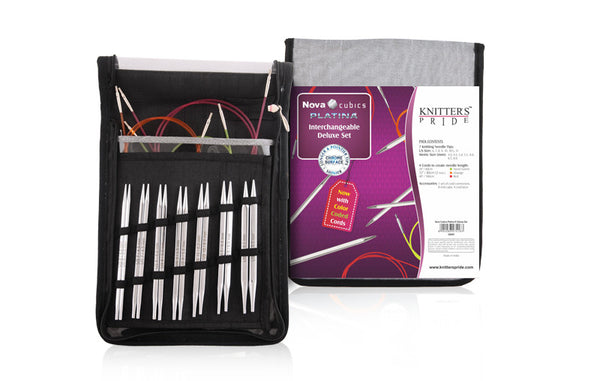 Nova Cubics Platina Deluxe Interchangeable Needle Set