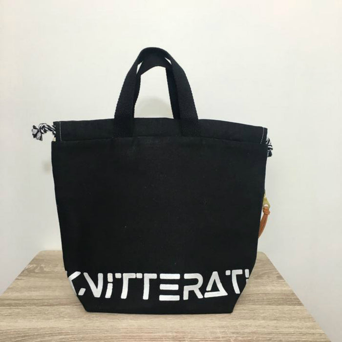 KNITTERATI Tote Bag - Black