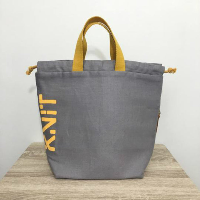 KNIT Tote Bag - Mellow Grellow