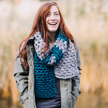 Crochet Basics: Color Block Scarf - 12/01 - 10:30am to 12:30pm
