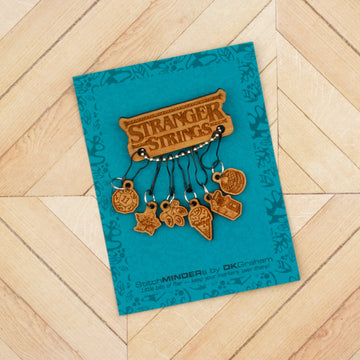Stranger Strings StitchMINDERs Pin & Stitch Marker Set