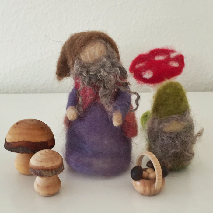 Needle Felting: Magical Gnomes & Mushrooms - 10/25 - 6-8pm