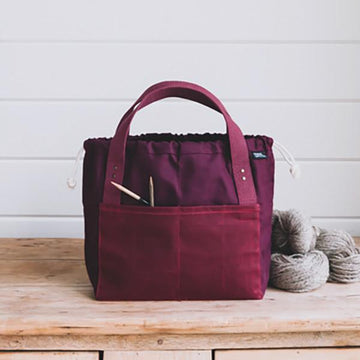 Fringe Town Bag - Fig