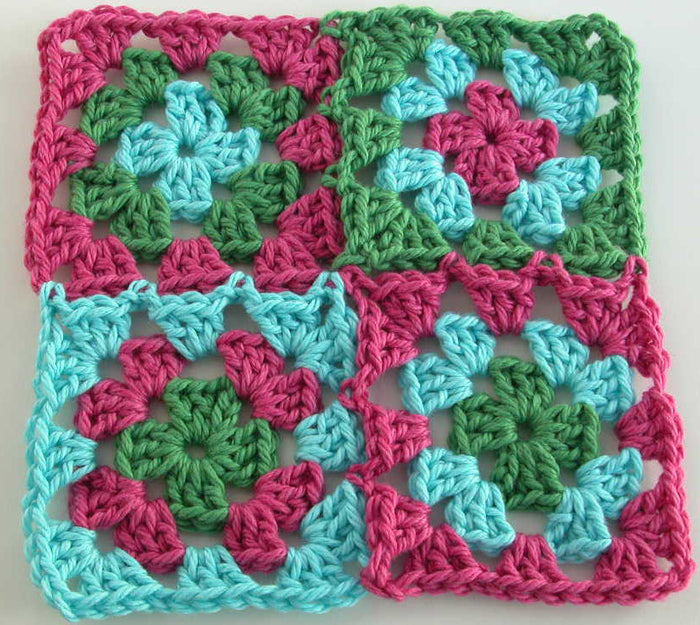 Crochet Basics: Granny Squares - Saturday Feb 8, 10:30am to 12:30pm