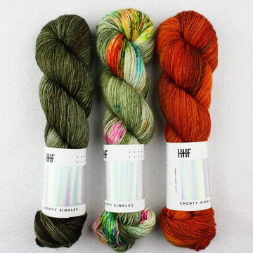 Plumpy Shawl Kit - Original Sporty Singles Color Set