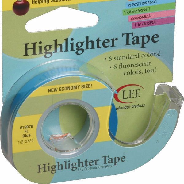 Highlighter Tape, Blue