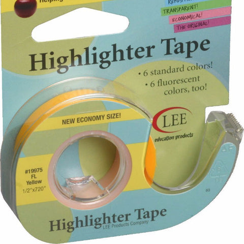 Highlighter Tape, Yellow