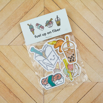 Fuel Up On Fiber Sticker Pack