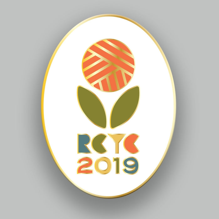 Rose City Yarn Crawl 2019 Enamel Pin