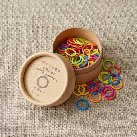 Cocoknits Colored Ring Stitch Markers - Large