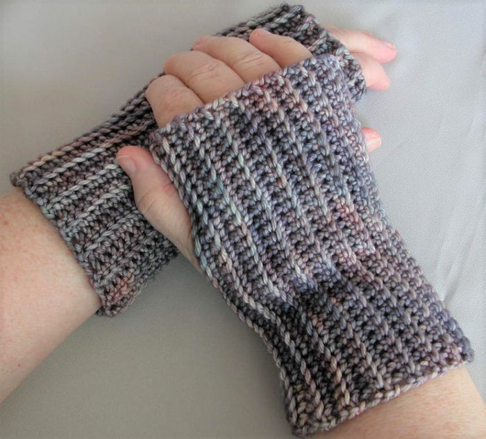 Crochet Basics: Ribbed Handwarmers - 12/8 - 10:30am to 12:30pm