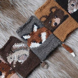 Basic Intarsia: The Woodsy Association Mitts