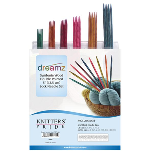 "Dreamz Double Point Needles - 5"" Sock Set"
