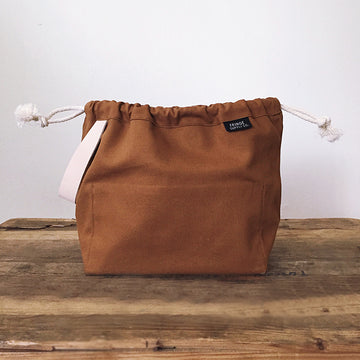 Fringe Field Bag - Toffee