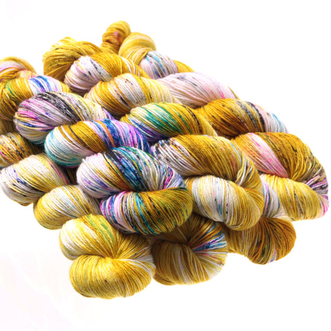 Hedgehog Fibres Sock Yarn, Fool's Gold