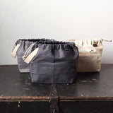Fringe Field Bag - Charcoal