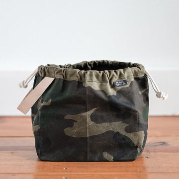 Fringe Field Bag - Waxed Camo Print