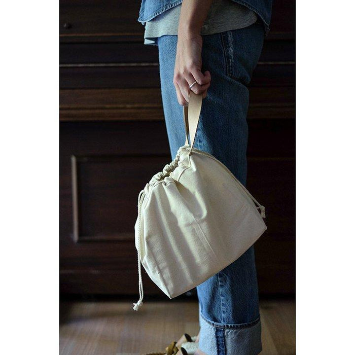 Fringe Field Bag - Natural
