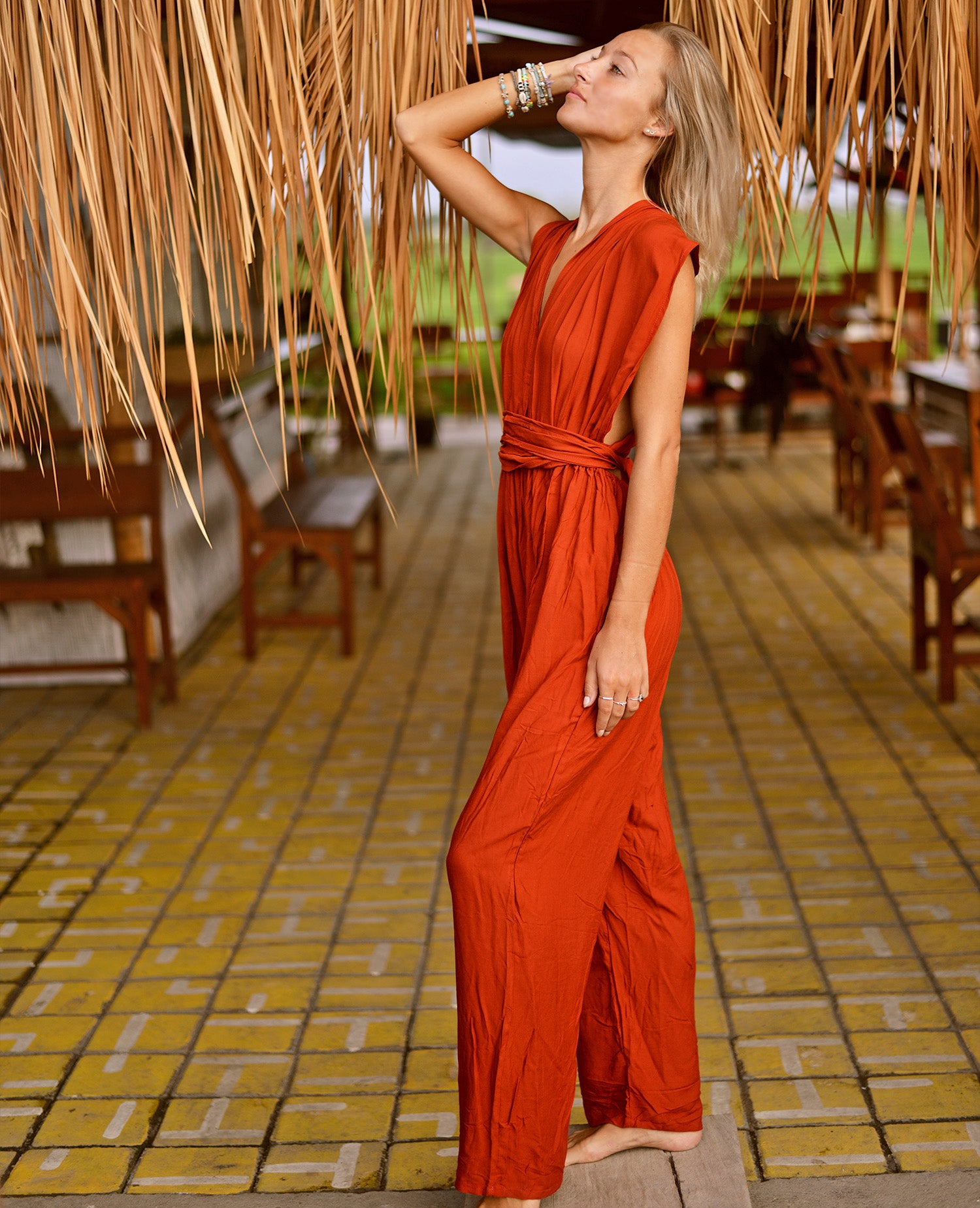 Antheia Versatile Jumpsuit (Orange)
