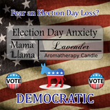 Election Day Stress Candle-Aromatherapy (Democrat & GOP)