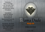 Llama Dude Unscented Beard Oil