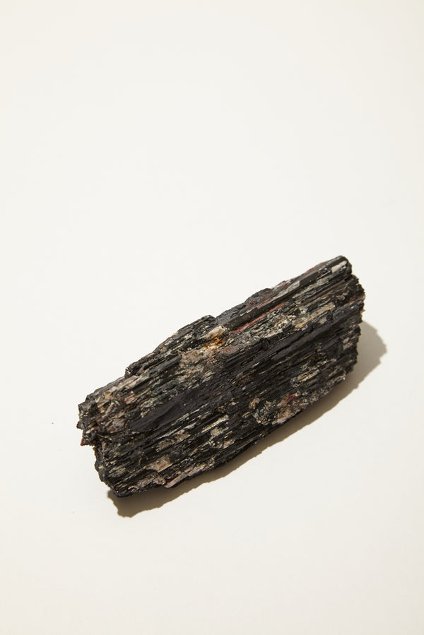 Rough Black Tourmaline w/ Mica Inclusions