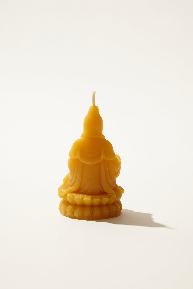 Quan Yin Beeswax Candle