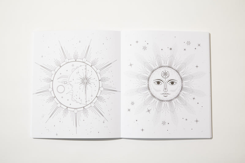 Astral World Coloring Book