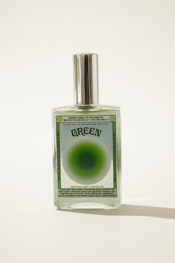 Green Color Essence Mist