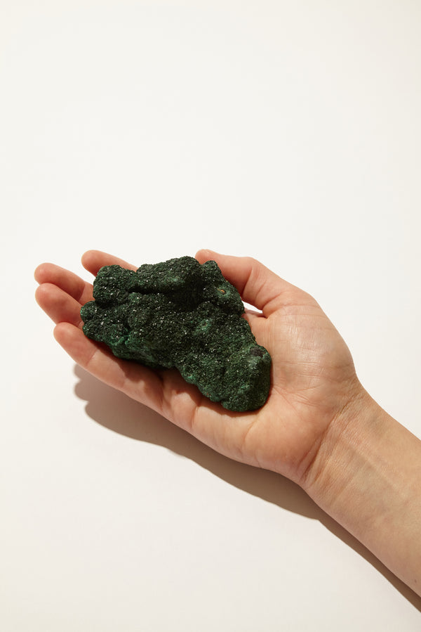 Crystalline Malachite