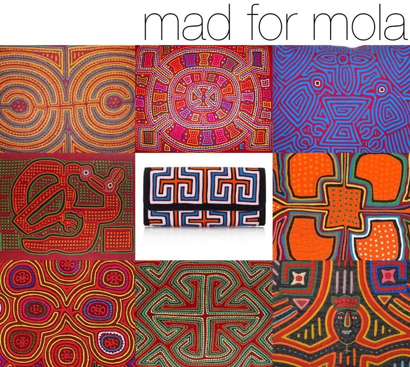 Mola Textiles from Panama