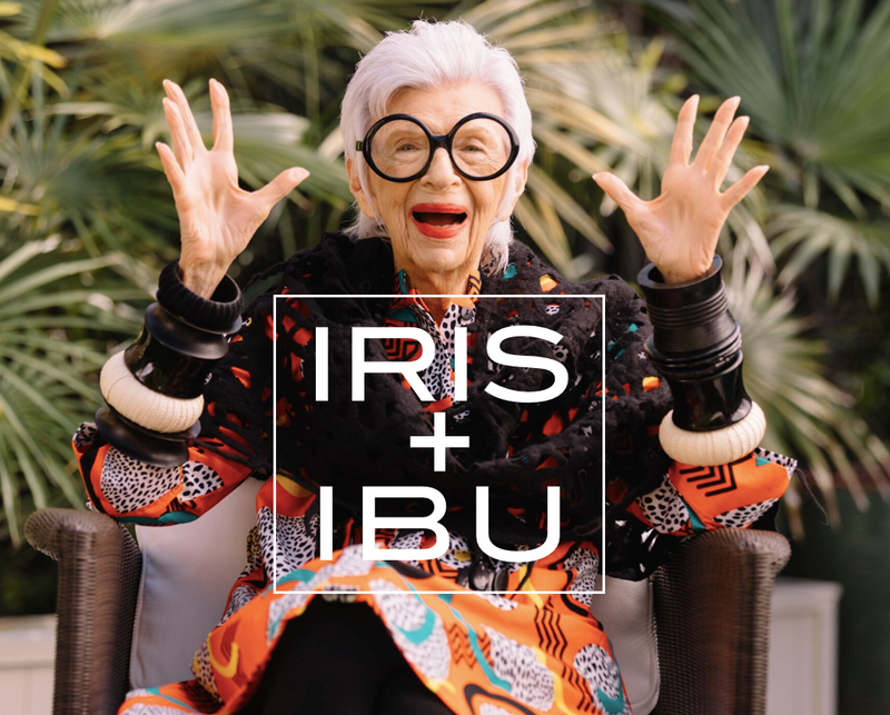 Iris Apfel Supports Ibu's Mission