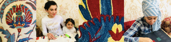 Renowned Embroiderer in Uzbekistan – ibumovement com