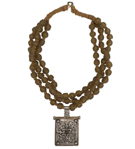 Ethiopian Teslum Silver Necklace
