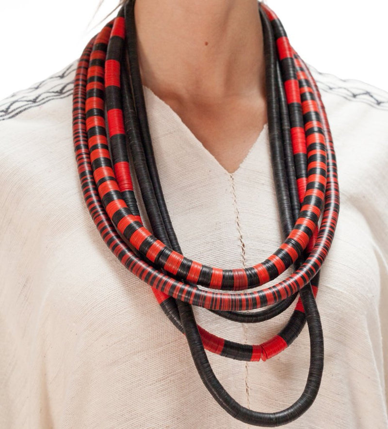 African Hip Necklace