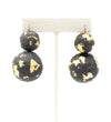 Indigo Batik Stud Earrings