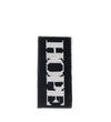 Hope + Love Beaded Eyeglass Case: Black and White