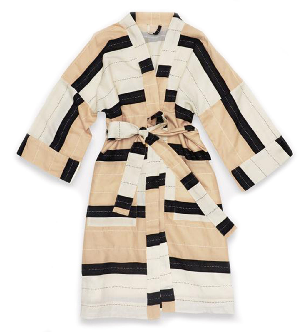 Stripe Robe: Neutral